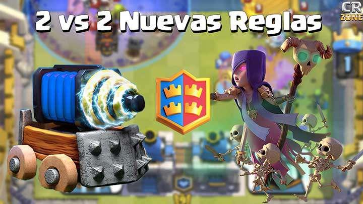 2 vs 2 nuevas reglas y nuevos premios para batalla de clanes