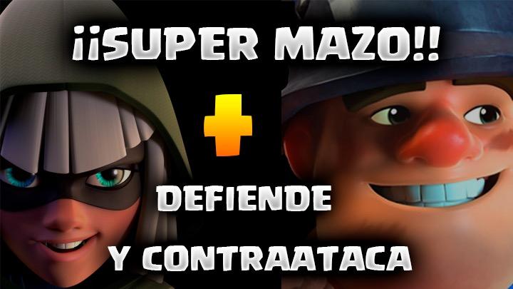 Bandida más Minero, buena defensa y ataque