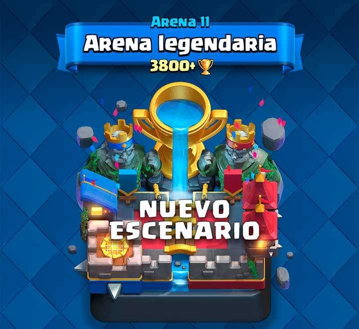 Nueva arena legendaria, Arena 11