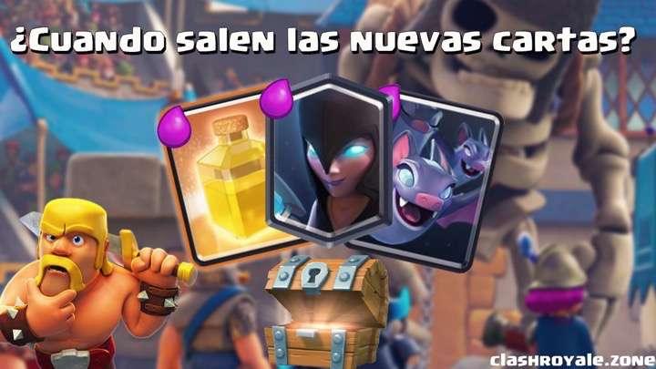 Nuevas cartas Clash Royale muy pronto