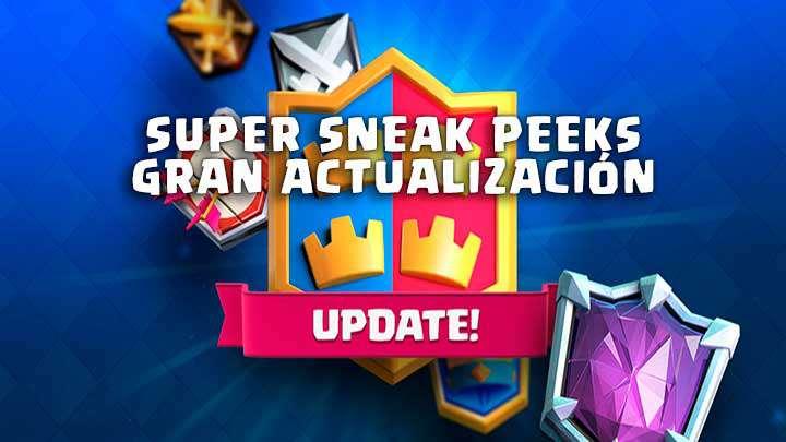 Nuevos sneak peeks Clash Royale