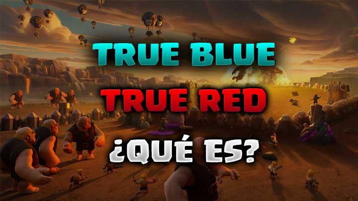 True blue y true red Clash Royale