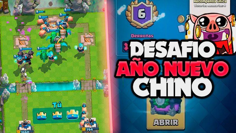 Año nuevo Chino Clash Royale