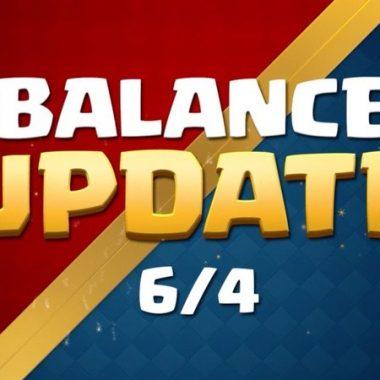 Cambios de balance 4 de junio