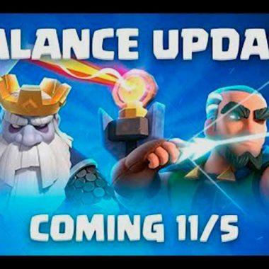 Cambios de balance 5 de noviembre
