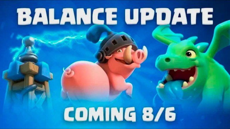Cambios de balance 8 de agosto