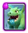 Bebé dragón Clash Royale