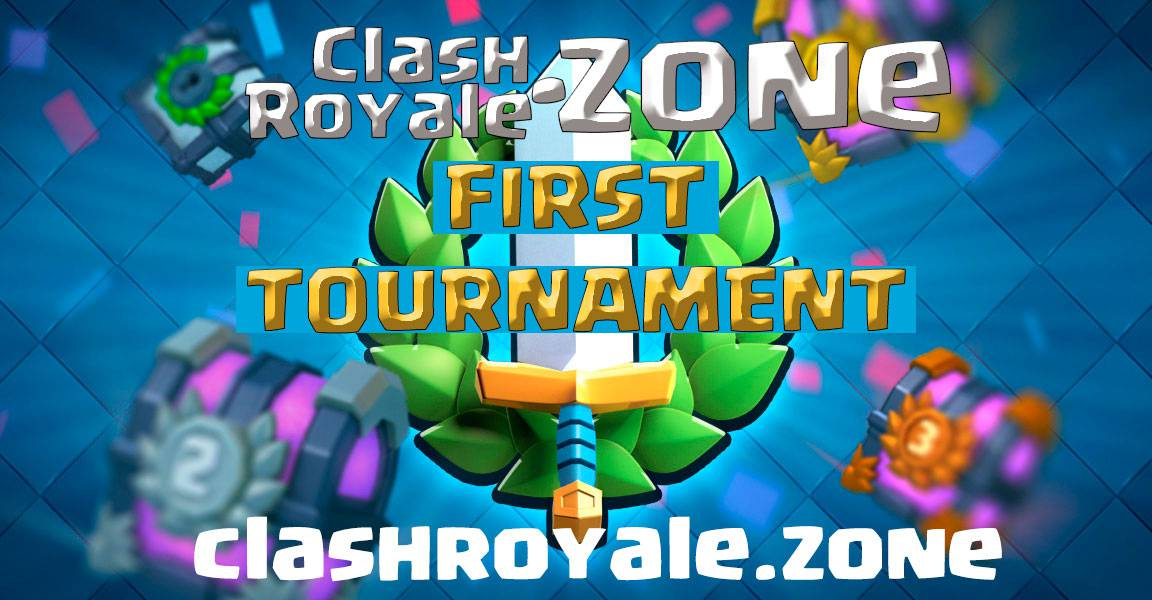 first tournament free for clashroyale.zone