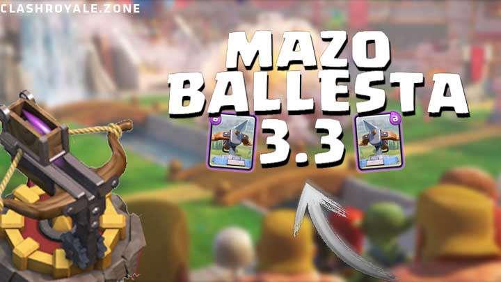 Mazo de Ballesta 3 3