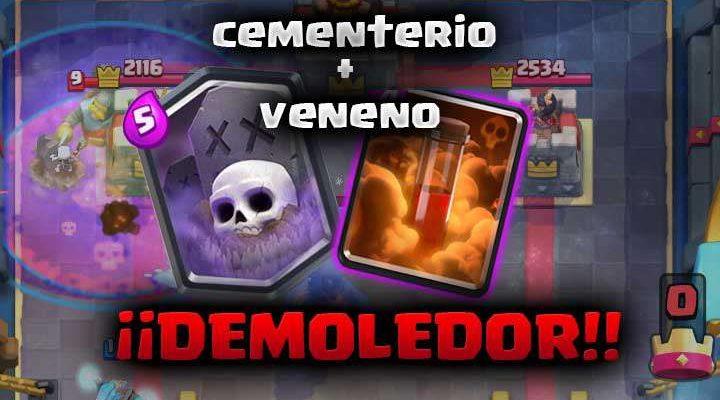 Mazo de cementerio y veneno – Máximo de trofeos