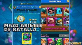 El mejor mazo para ganar el desafío de arietes de batalla