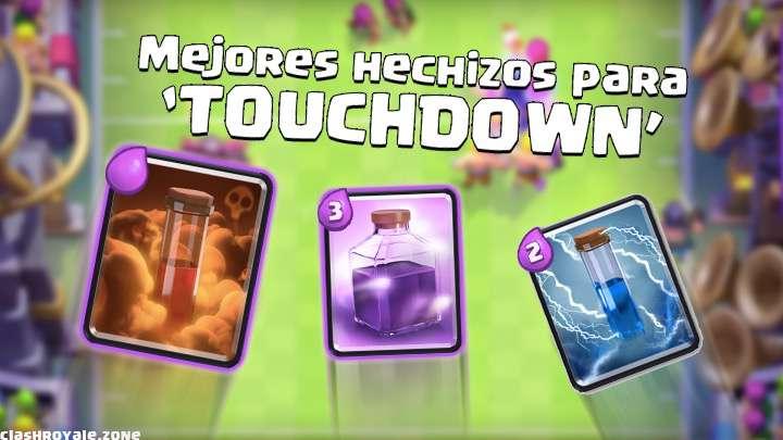 Mejores hechizos para Touchdown