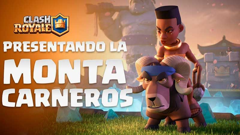 Montacarneros Nueva carta Clash Royale
