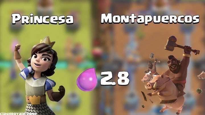 Montapuercos y Princesa para Ladder y 2vs2