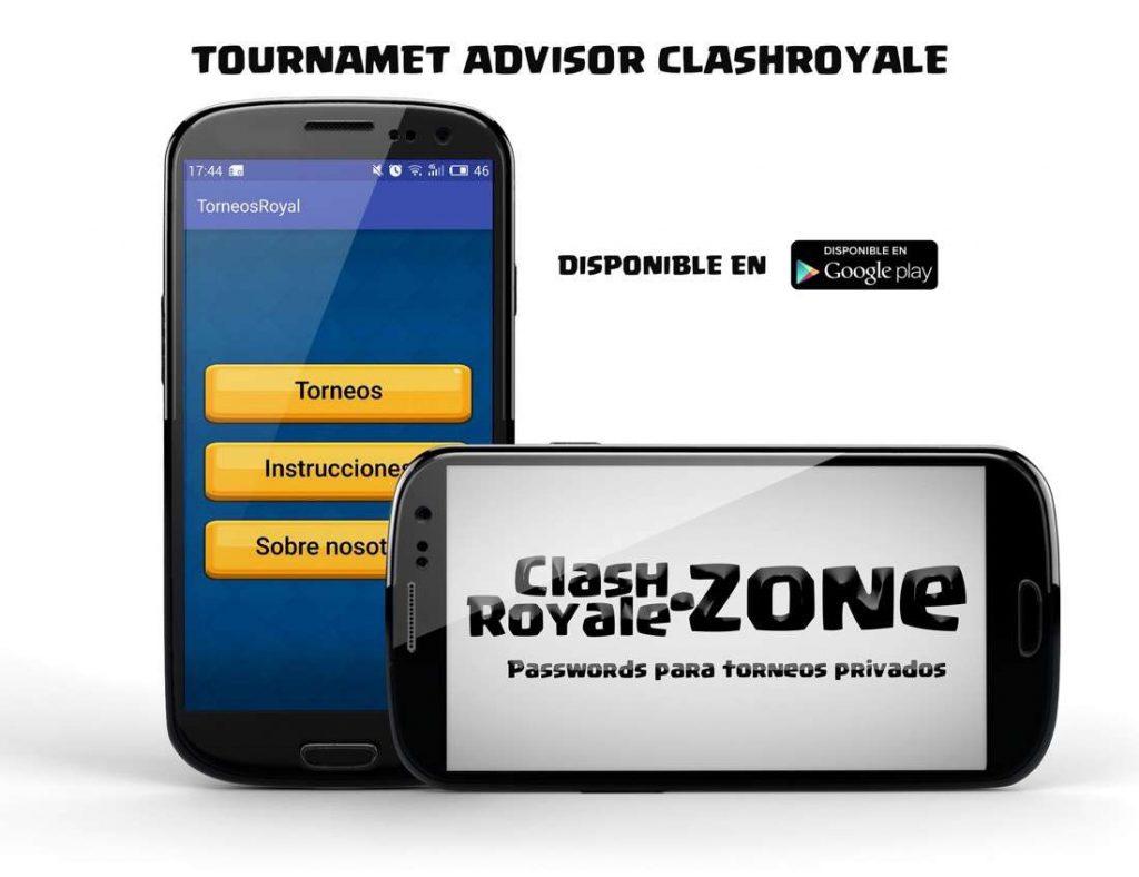 imagen de presentación de la app Tournament Advisor Clash Royale
