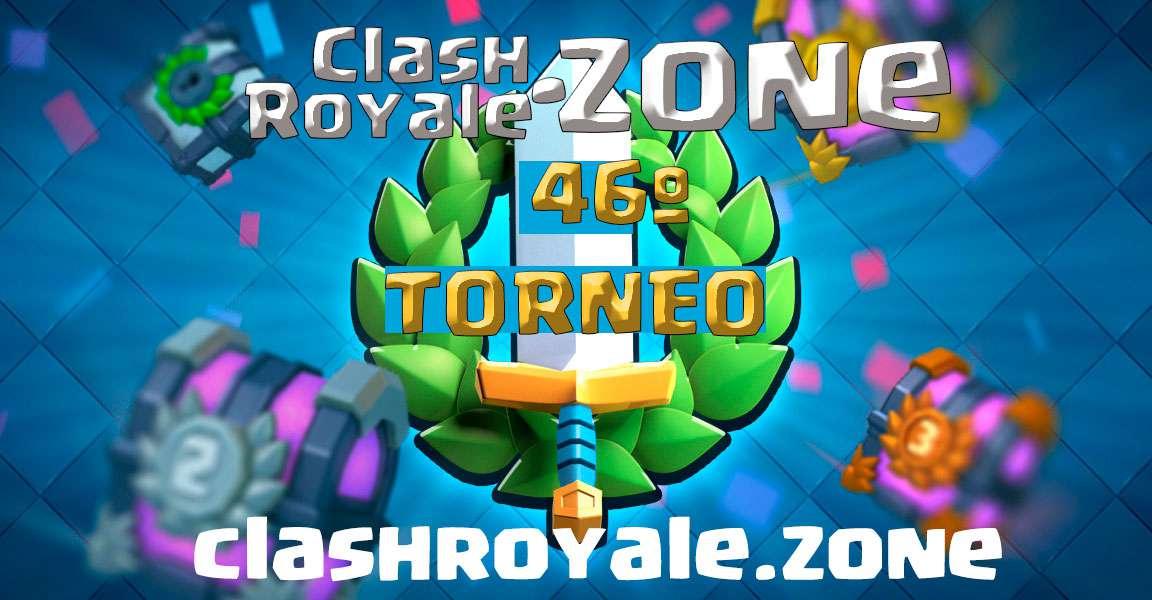Presentación del 46º torneo gratuito Clash Royale Zone