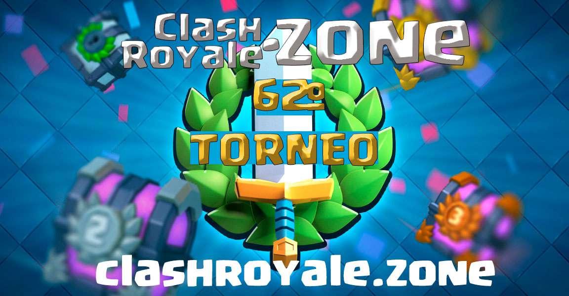 Presentación del 62º torneo gratuito Clash Royale Zone