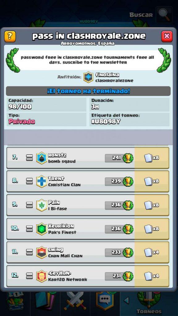 winners third tournament clashroyale.zone 001